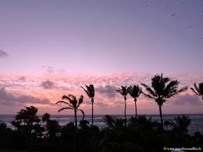 Photo: #004-Lever de soleil sur le Club Med Cancún Yucatán.