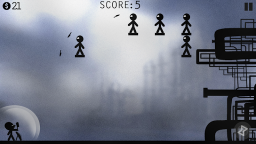 Stickman Battle - Knife Hit! apkpoly screenshots 4