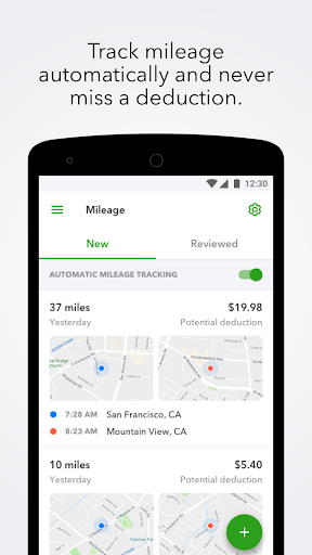 QuickBooks Self-Employed:Mileage Tracker and Taxes screenshot