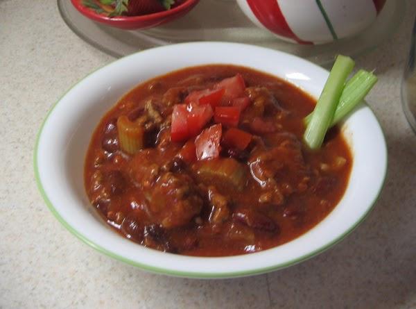 Bloody Mary Chili Recipe
