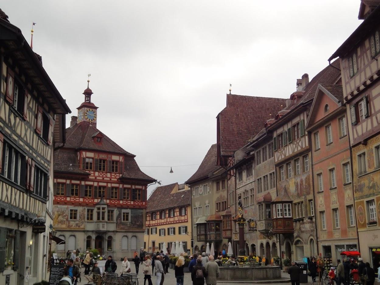 Marktplatz à Stein am Rhein