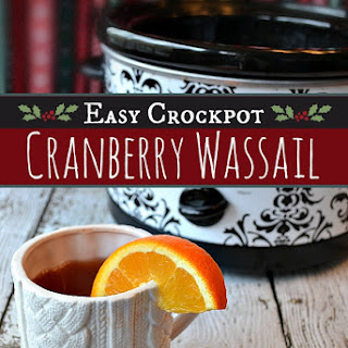 Cranberry Wassail (Easy Crockpot Recipe)