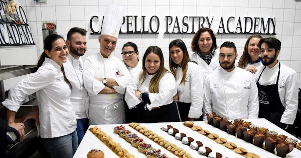 2019-02-04 Pasticceria salutistica alla Cappello Pastry Academy