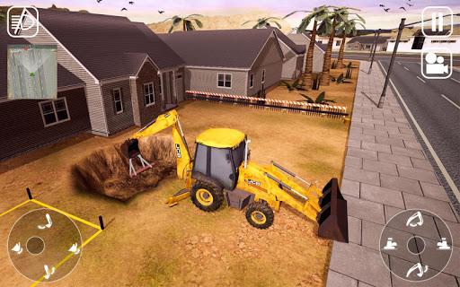 Real Construction Machine: City Builder Sim 2020  captures d'écran 1