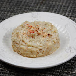 Risotto with Smoked Herrins.
