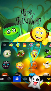 Spooky. Halloween - Keyboard Theme - náhled