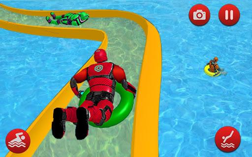 Robot Water Slide 1.0.9 screenshots 3