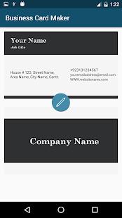 Business Cards Maker & Visiting Cards Maker screenshot