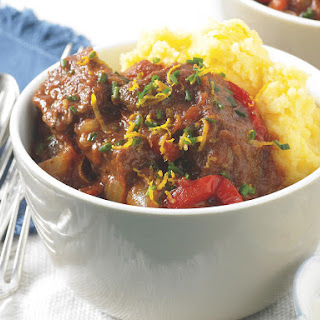 Beef Goulash with Orange and Chive Sour Cream