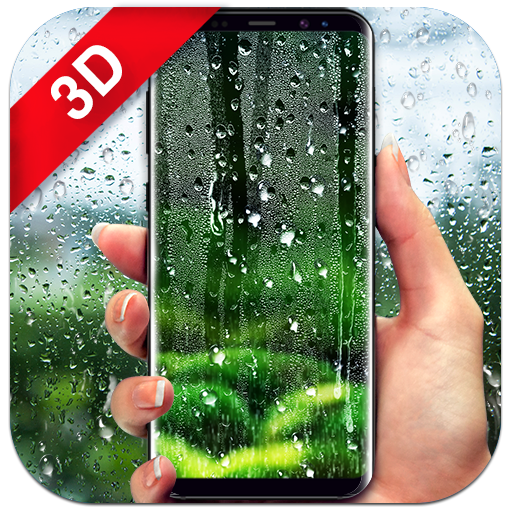 Waterdrops Live Wallpaper 2018