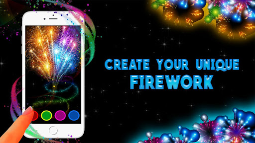 Fireworks. Augmented reality
