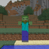ZombiePeak Minecraft Wallpaper