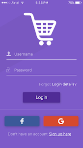 eCommerce strapmobile screenshot 0