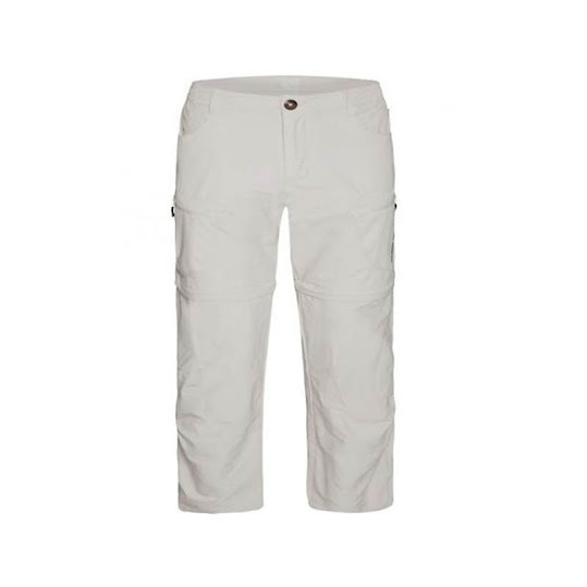 Outdoorbyxor. Weather Report Zip-off Pants Stretch Man Khaki Stl: XXL