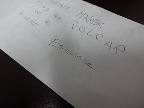 Photo: V Cancunu jsem se byli jednoho krásnýho dne proběhnout. Moje nejlepší boty na běhání byly crocsy a jak se později ukázalo, nebyl to uplně nejlepší nápad. No prostě kulhal jsem další pár dnů. Už mě to nebavilo, tak jsem navštívil doktora. Za pomoci kreslení a psaní se mi povedlo mu vysvětlit, co že to mam vlastně za problém a von mi předepsal 3 injekce nějaký dobroty a k tomu prášky. Esquince je to slovo, co mi řikal, že mi vlastně je (=vymknutí), což asi uplně nebyla pravda, ale injekce pomohly a noha přestala bolet :)