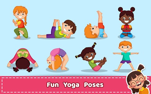Yoga for Kids and Family fitness – Easy Workout Apk  Download For Android 5