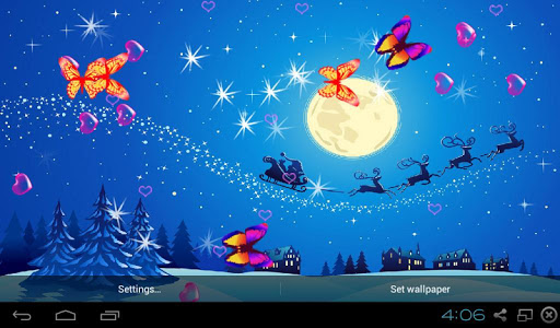 3D Christmas Wallpapers screenshot 2