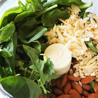 Veggie Power Bowls with Creamy Pesto Sauce