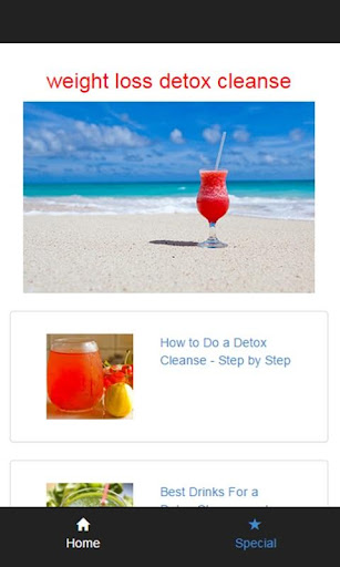 weight loss detox cleanse
