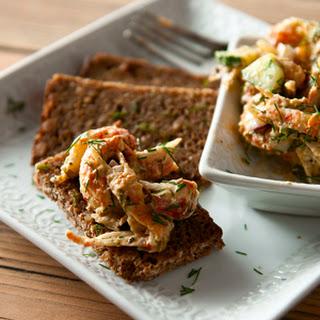 Scandinavian Crayfish Salad.