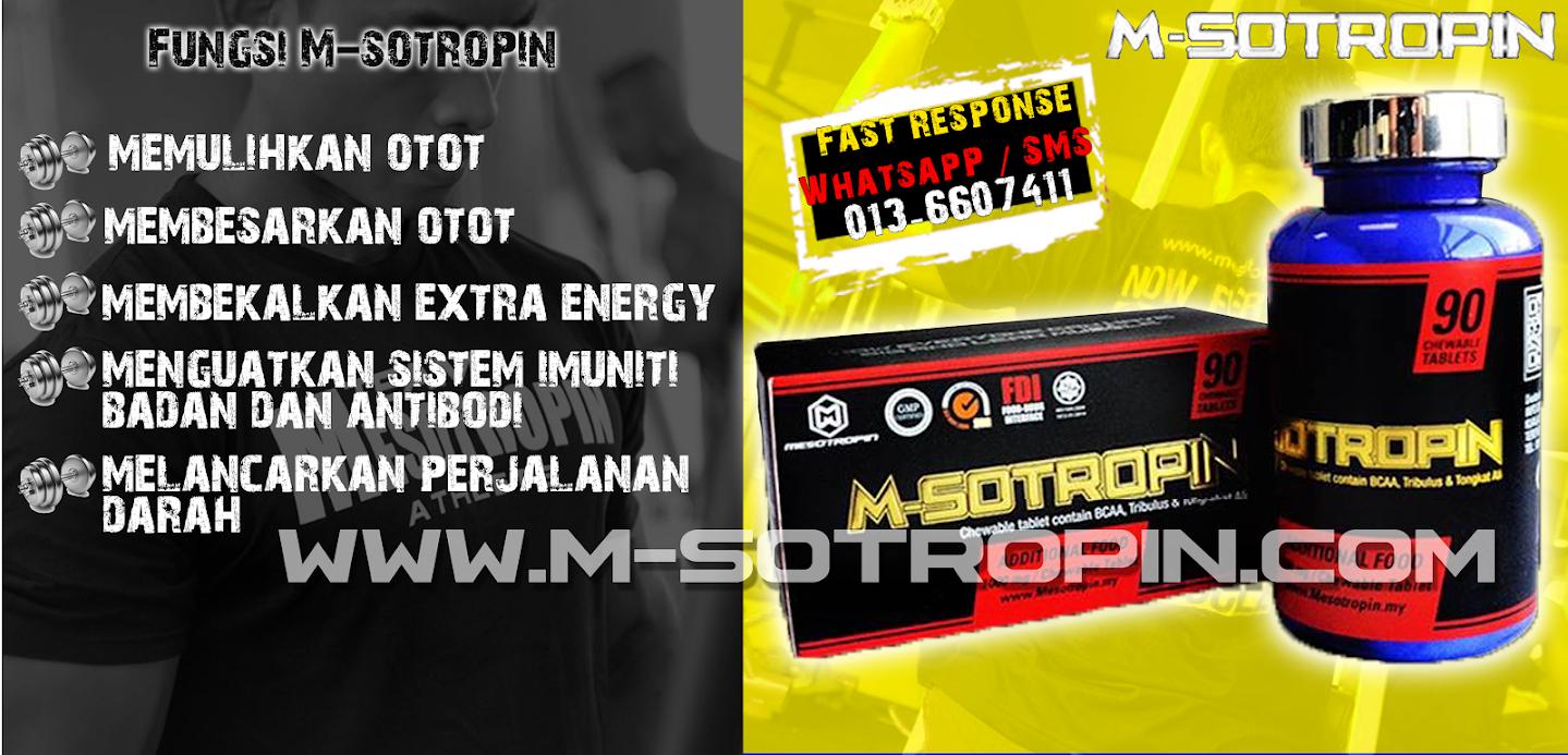 m-sotropin fungsi