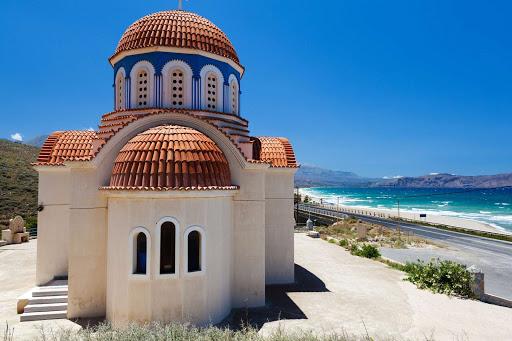 Greek-Orthodox-church - A Greek Orthodox church in the Greek islands.