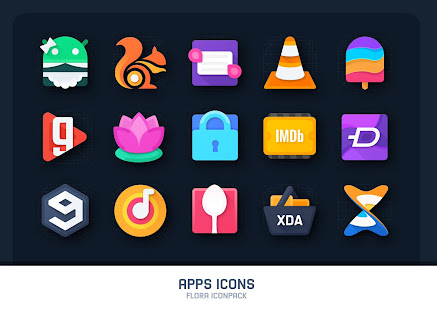 Flora: Material Icon Pack