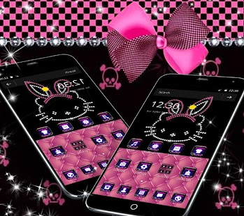 Pink Kitty Diamond Princess Theme- screenshot thumbnail