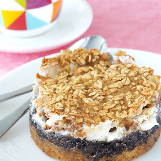 Gooey S'mores Baked Oatmeal