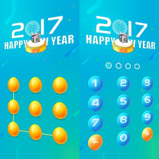 AppLock Theme Happy2017