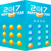 AppLock Theme Happy2017