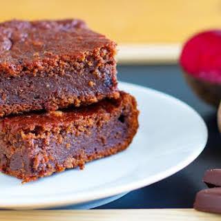 Dark Chocolate Beetroot Brownies.