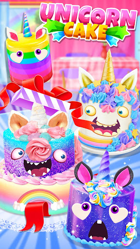 Unicorn Food - Cake Bakery 2.1 Screenshots 6