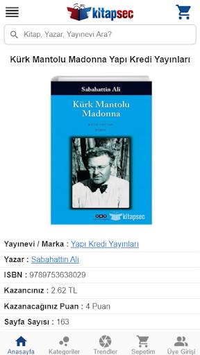 Kitap Seç screenshot 5