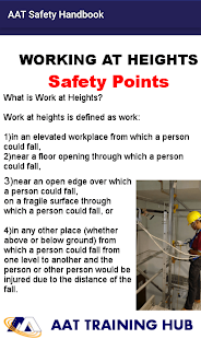 AAT Training-Safety Handbook- screenshot thumbnail