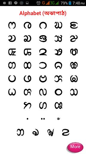 Chakma Alphabet চাকমা বর্ণমালা  screenshots 2