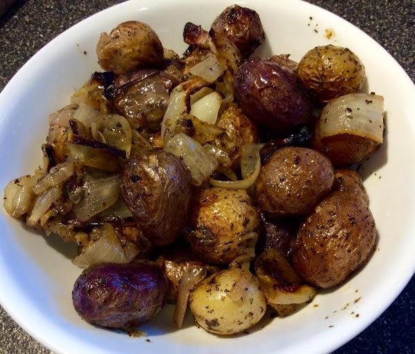 Lemon & Lime Roasted Red Potatoes Recipe