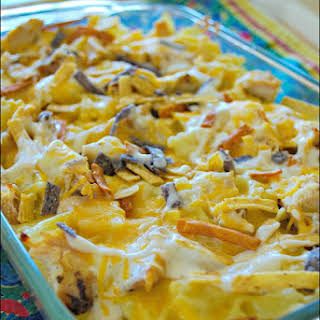 Ranch Chicken and Pasta Bake.