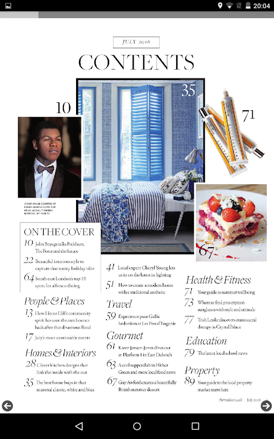 Living South Resident Magazine- screenshot