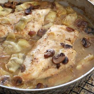 Quick and Easy Chicken and Artichoke Casserole