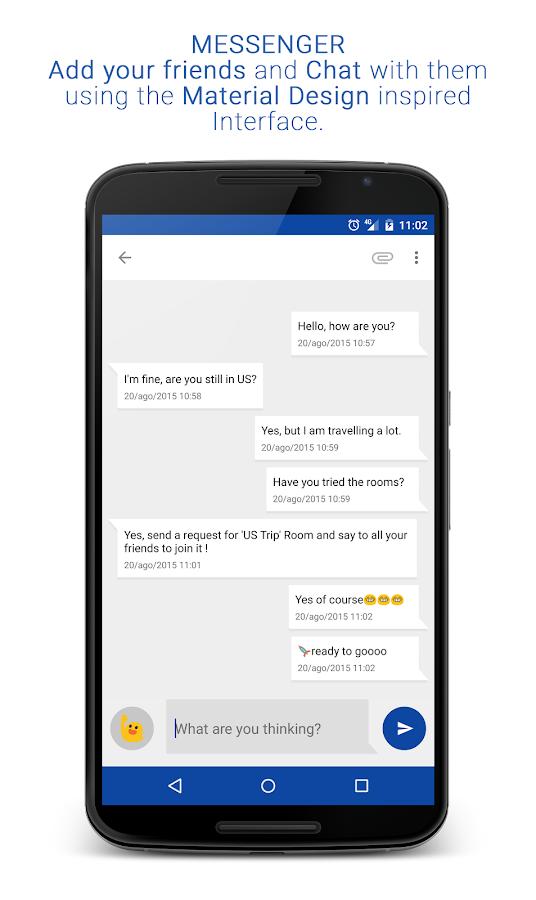 Fast Messenger- screenshot