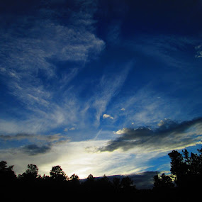 Sunset in Bailey, CO by Samantha Walls - Landscapes Cloud Formations