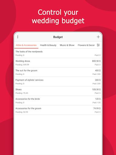 MyWed u2764ufe0f Wedding Planner with Checklist and Budget 2.02.112 Screenshots 19