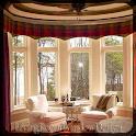 Living Room Window Design icon