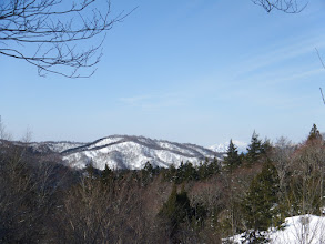 火山(右奥に大日ヶ岳)