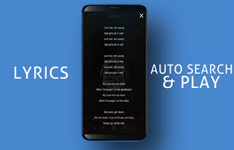 S10+ Edge Music Player Screenshot