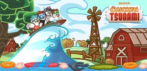 Chicken Tsunami - by Zeenoh Inc  - Adventure Games Category - 194