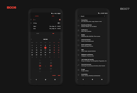 PitchBlack S - Samsung Substratum Theme Oreo/OneUI Screenshot
