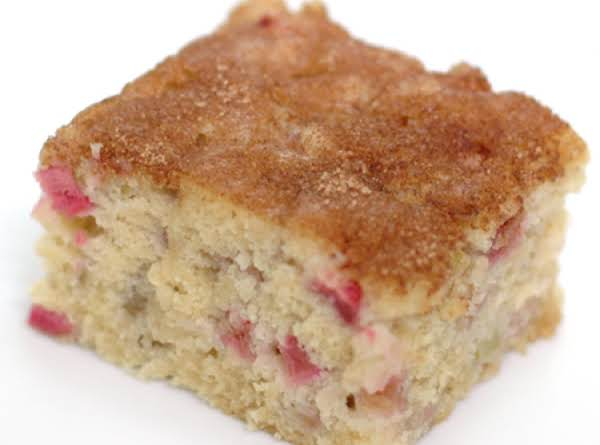 Moist Delicious Rhubarb Cake Recipe Shared Over 16 000 Times