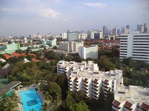 Photo: JAKARTA DARI KETINGGIAN
